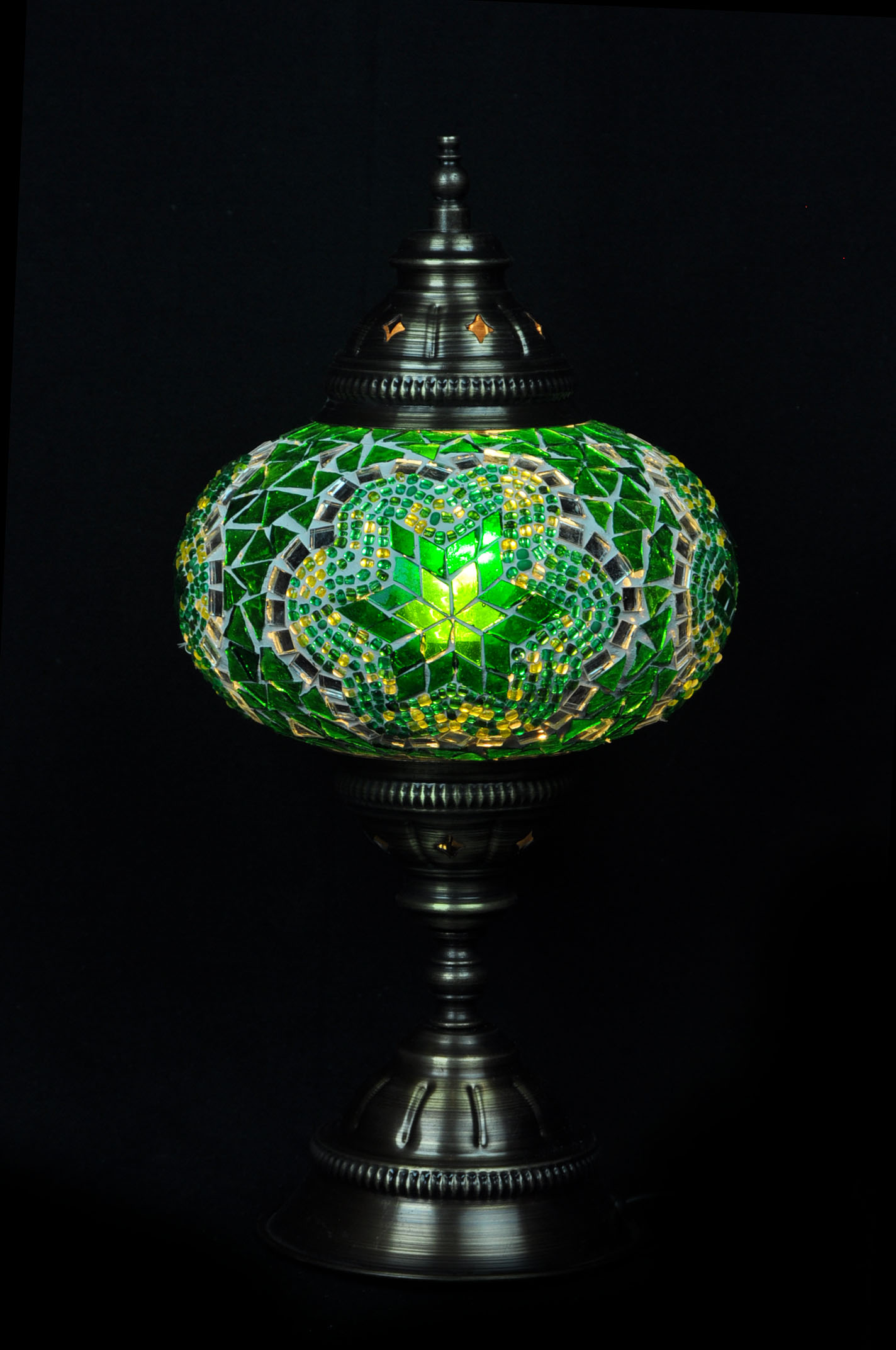 Table lampmosaic glass turkish lamp mosaic table lamp large geotapseo Gallery